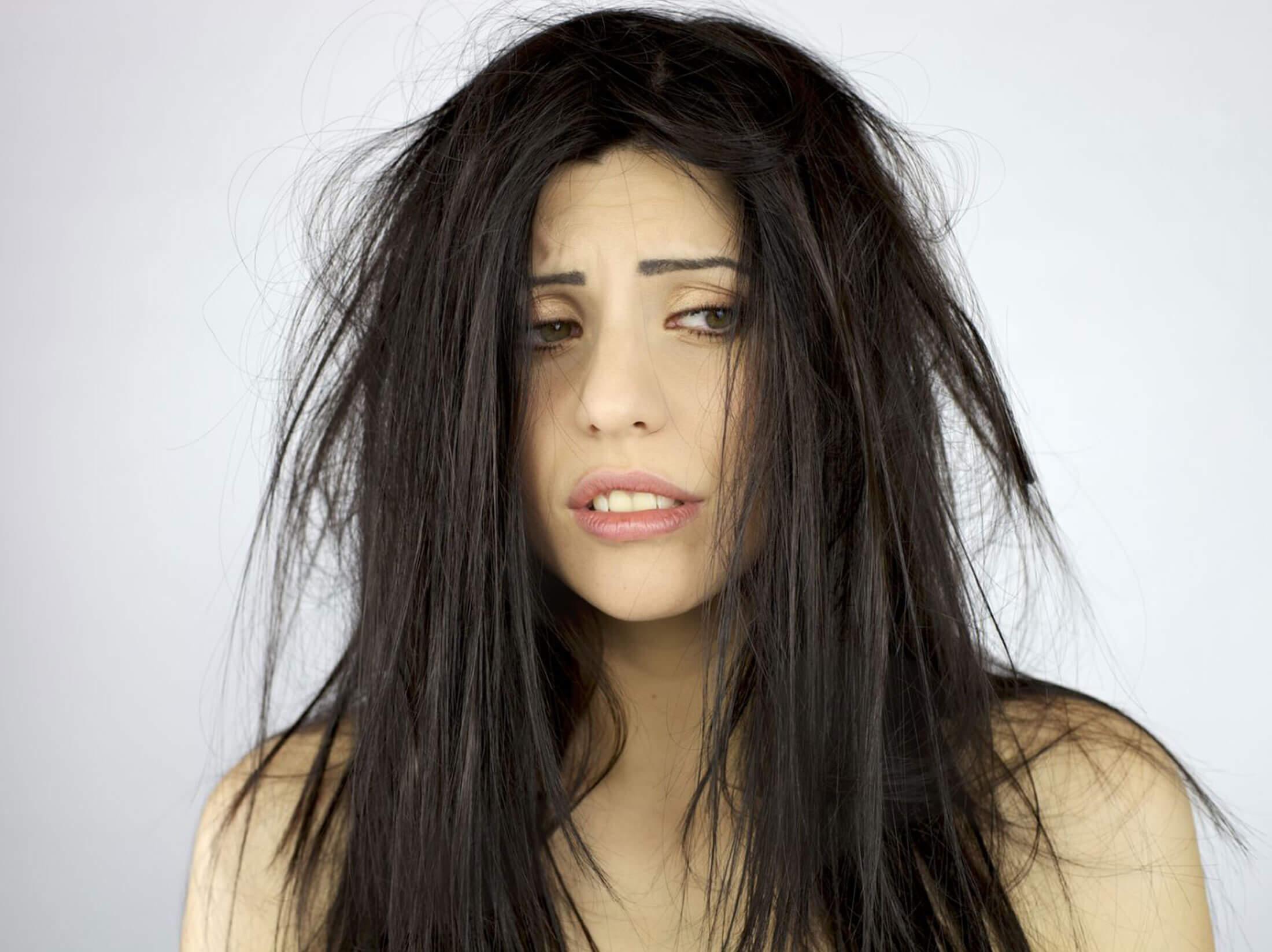 Проблемы с волосами на сыроедении и не только