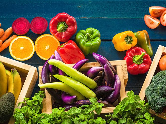 Календарь продажи и созревания фруктов, овощей, ягод