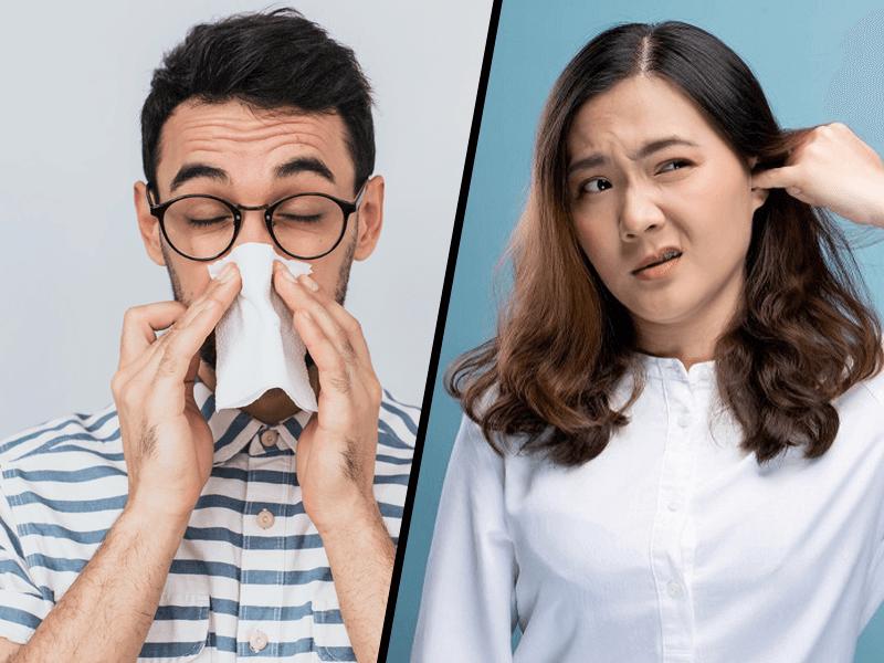 Симптоматик №3: Нос и уши - выделения, язвочки, заложенность