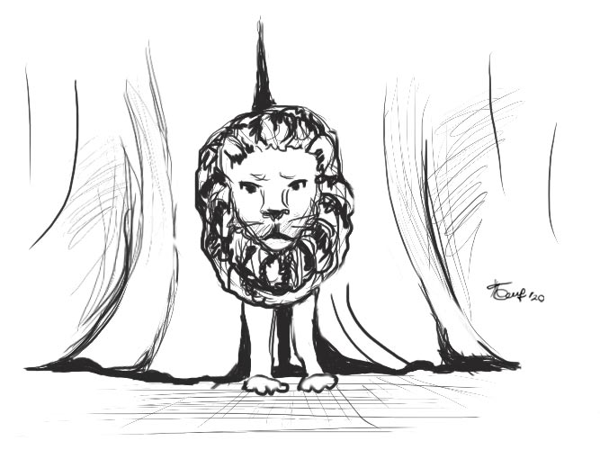 Одинокий Лидер как лев без прайда. Он потерянный неудачник за ширмой сомнительного смысла